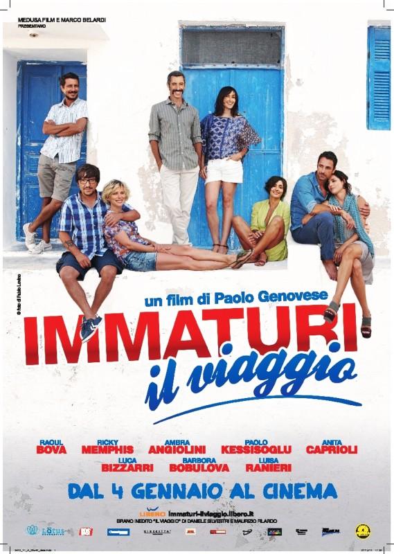Immaturi - Il viaggio: la locandina del film