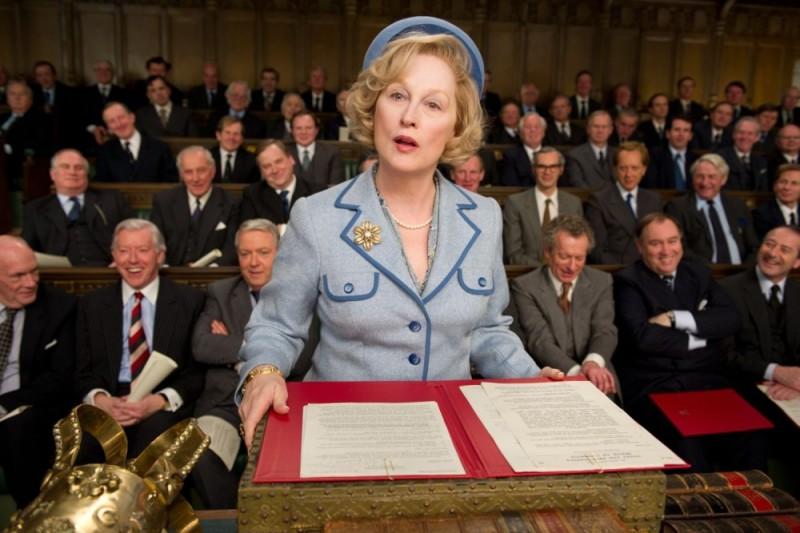 Iron Lady: Meryl Streep è Margaret Thatcher in una scena del film