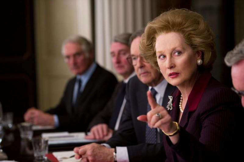 Iron Lady: Meryl Streep in una scena del film