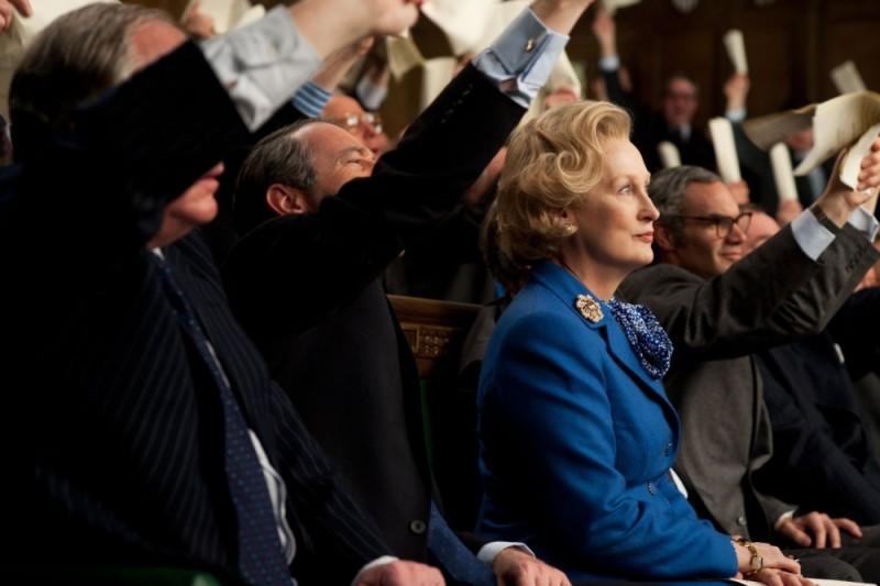 Iron Lady: Meryl Streep in una scena tratta dal film