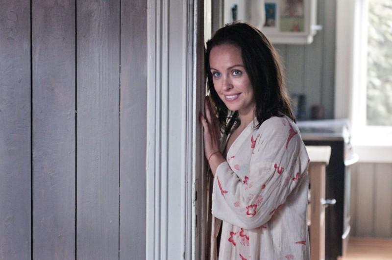Julie R. Ølgaard in una scena del film Headhunters