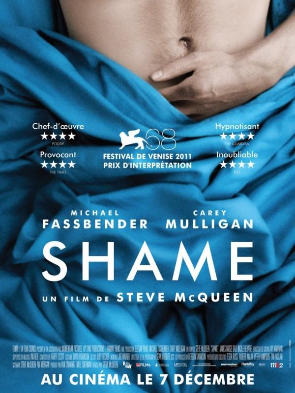 Shame: la locandina francese del film