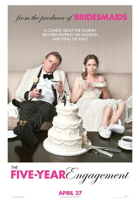 The Five-Year Engagement: primo poster USA