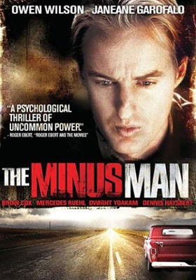 The Minus Man: la locandina del film