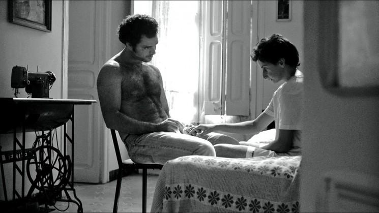 Amadís de Murga con Rubén Jiménez Sanz nel film Open 24h