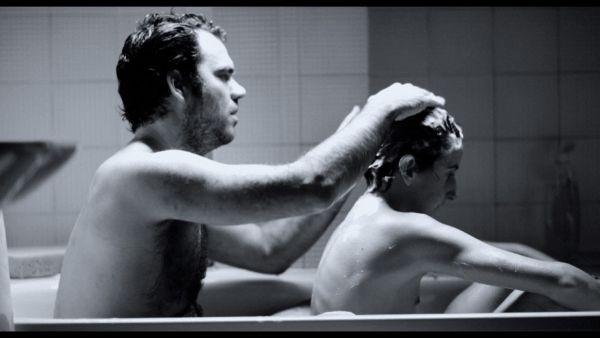 Amadís de Murga e Rubén Jiménez Sanz nel film Open 24h
