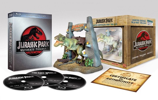 La copertina di Jurassic Park - Ultimate trilogy Limited edition (blu-ray)