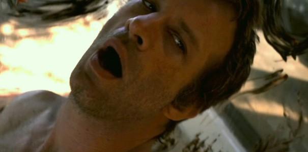 Thomas Jane in I Melt With You: una scena del film