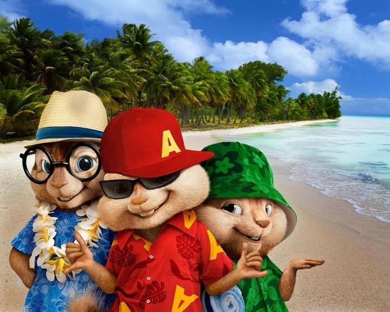 Alvin Superstar 3 - Si salvi chi può!: i nostri amici Chipmunks sulla spiaggia