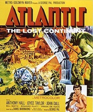 Atlantide continente perduto: la locandina del film