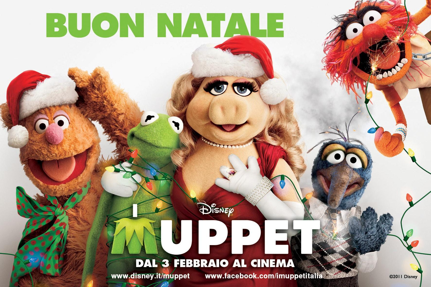 I Muppet: il wallpaper natalizio del film