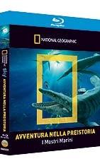 La copertina di Avventure nella preistoria - I mostri marini (blu-ray)
