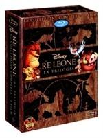 La copertina di Il re leone - La trilogia (blu-ray)