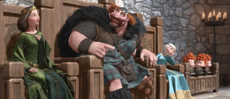 Brave: una bella immagine tratta dal film animato della Pixar