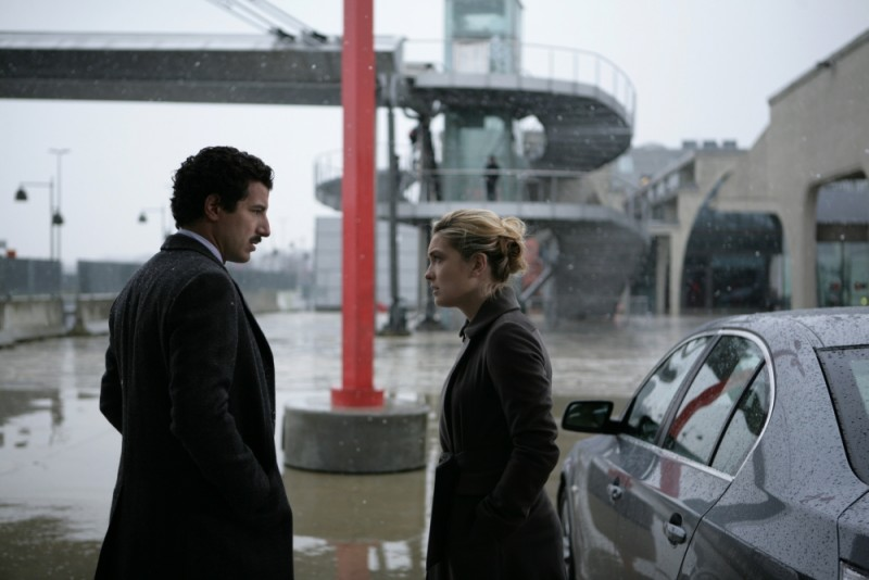 Carolina Crescentini in una scena de L'industriale insieme a Francesco Scianna