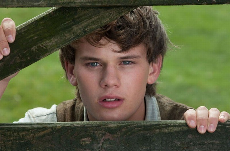 War Horse: Jeremy Irvine in un bel primo piano tratto dal film