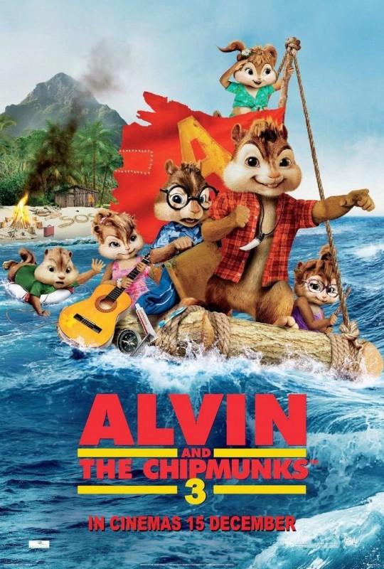 Alvin Superstar 3 - Si salvi chi può: uno dei poster del film