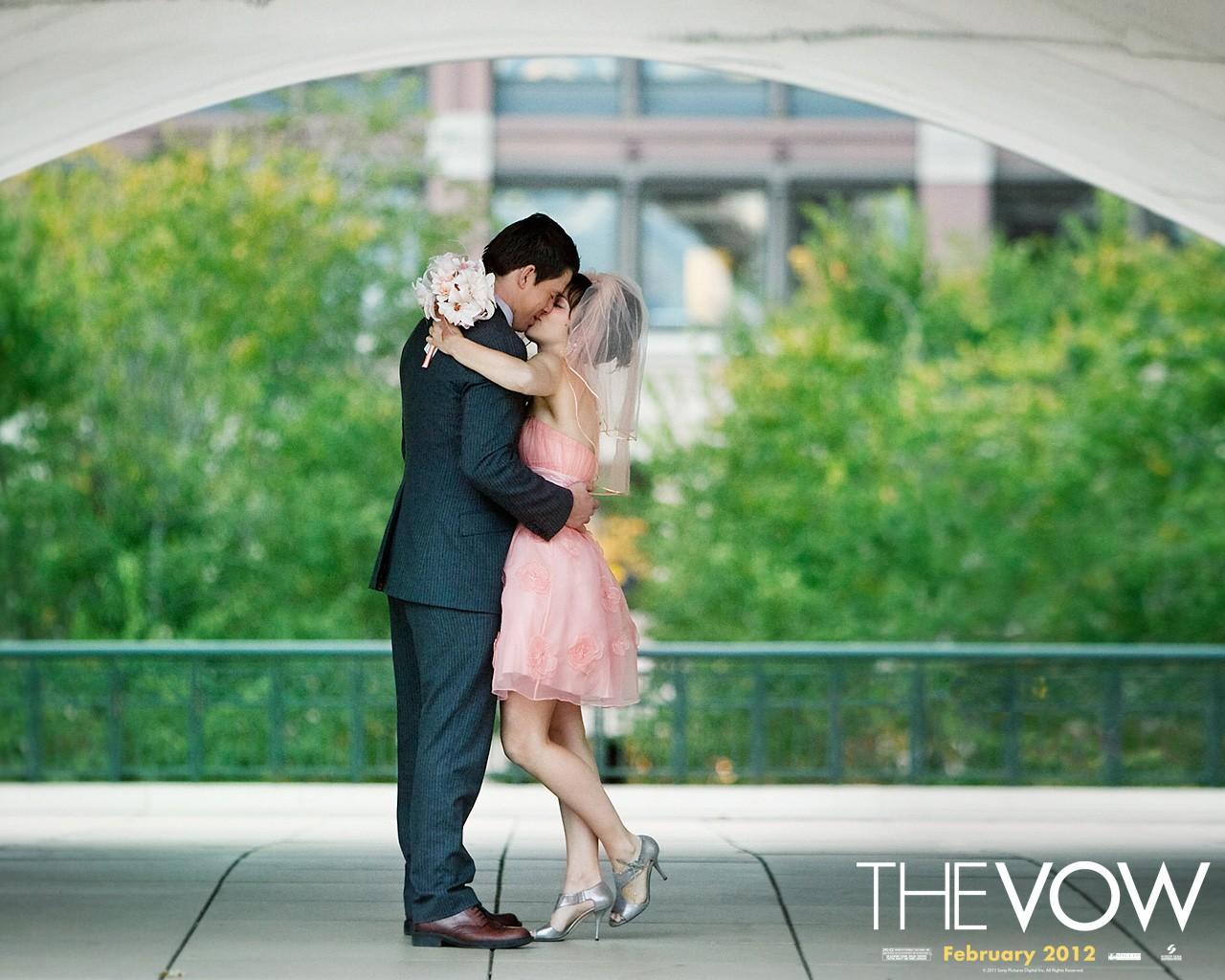 Channing Tatum e Rachel McAdams in un romantico wallpaper di The Vow