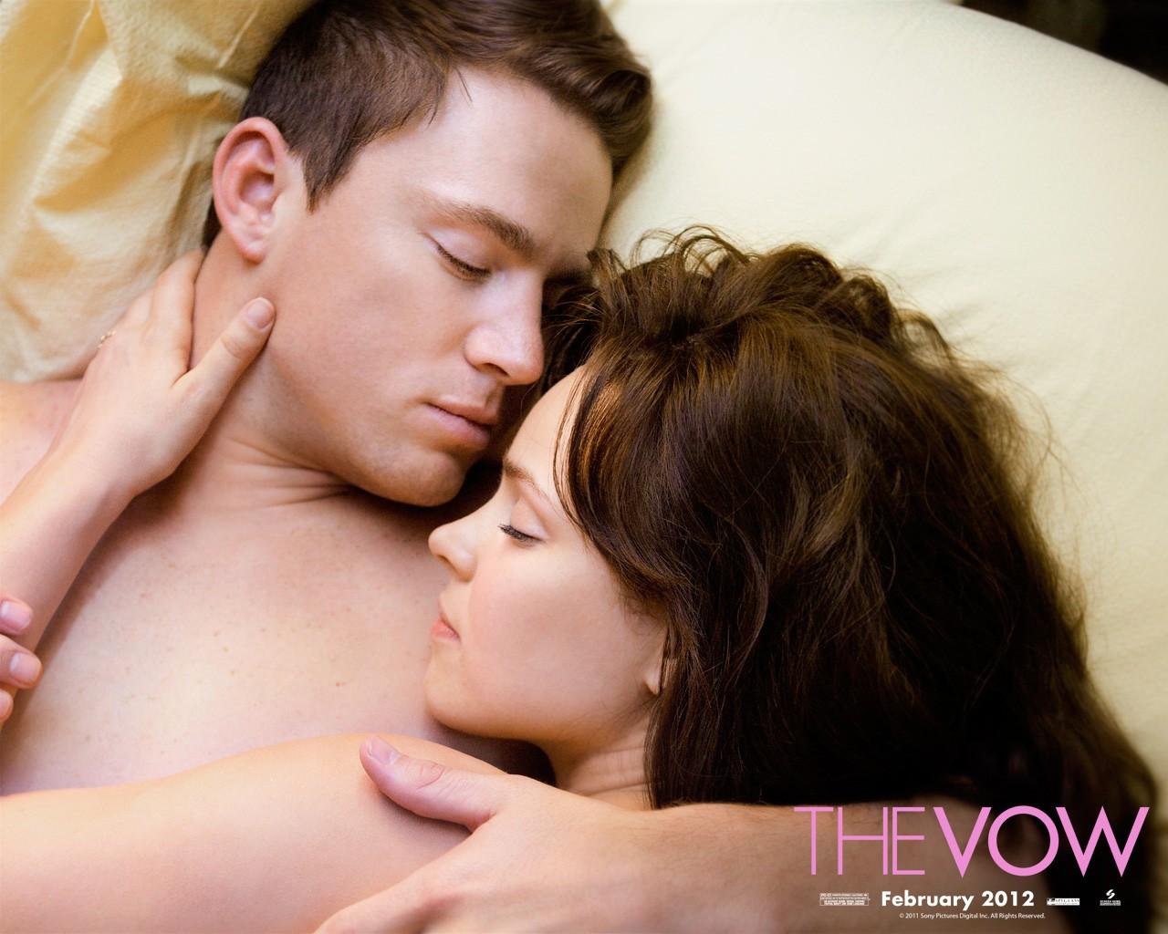 Channing Tatum insieme a Rachel McAdams in uno degli wallpaper di The Vow