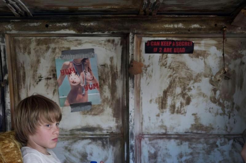 Hesher è stato qui: Devin Brochu in un'immagine del film