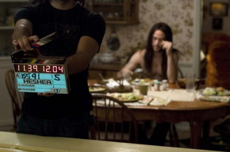 Hesher è stato qui: Joseph Gordon-Levitt si prepara al ciak sul set del film