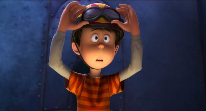 Ted, il ragazzino protagonista del film d'animazione Lorax - Il guardiano della foresta