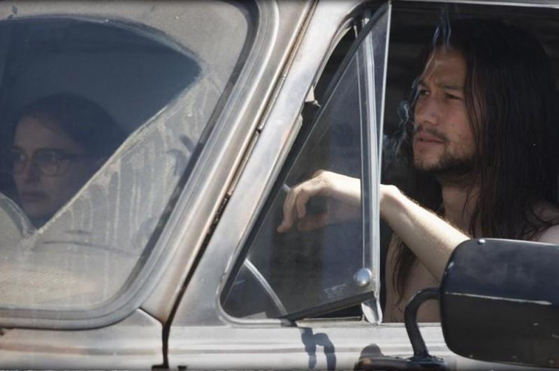 Joseph Gordon-Levitt in Hesher è stato qui in auto con Natalie Portman
