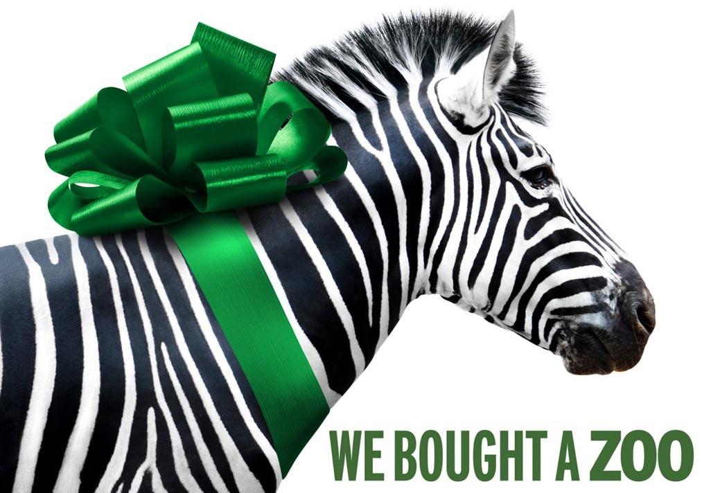 La mia vita è uno zoo: un wallpaper 'zebrato' del film