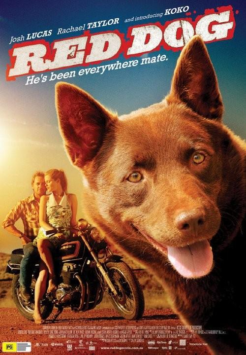 Red Dog, la locandina