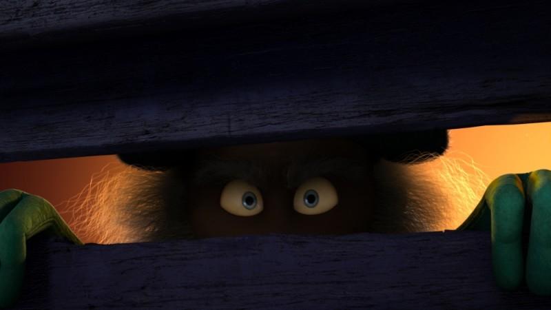 Una divertente immagine del film d'animazione Lorax - Il guardiano della foresta