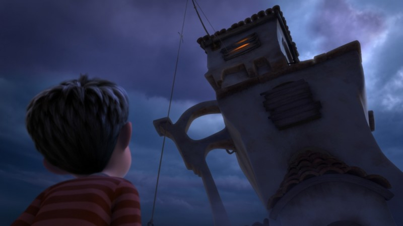 Una scena tratta dal film Lorax - Il guardiano della foresta