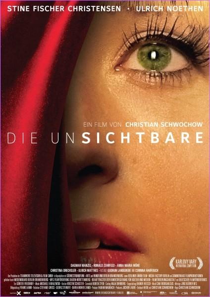 Die Unsichtbare: la locandina del film