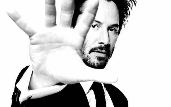 Ecco Keanu Reeves in un bel ritratto in bianco e nero