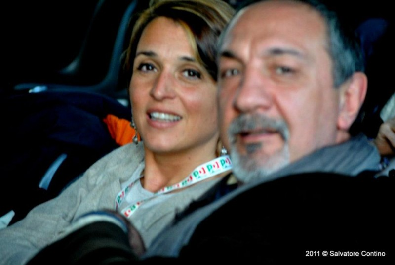 Enzo De Camillis e Cristina Maltese Presidente Commissione Cultura XVI Mun.
