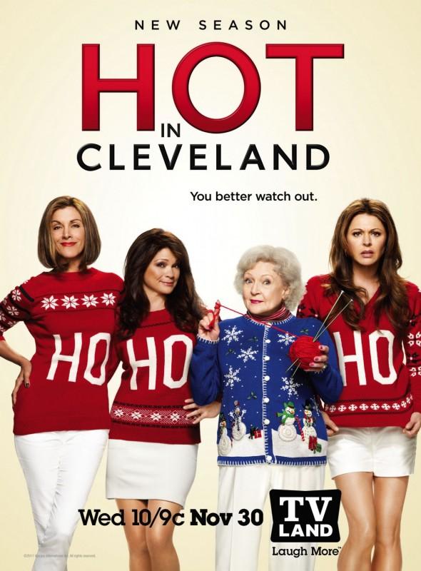 Hot in Cleveland: un poster della terza stagione