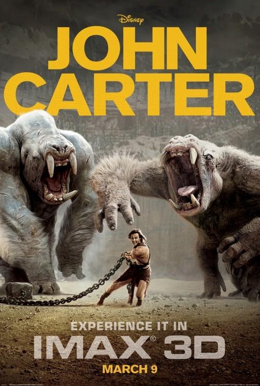 John Carter: poster IMAX