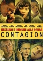 La copertina di Contagion (dvd)