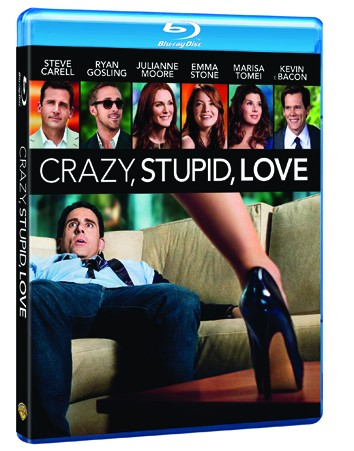 La copertina di Crazy, Stupid, Love (blu-ray)