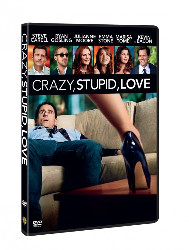 La copertina di Crazy, Stupid, Love (dvd)