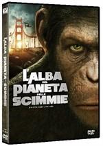 La copertina di L'alba del pianeta delle scimmie (dvd)