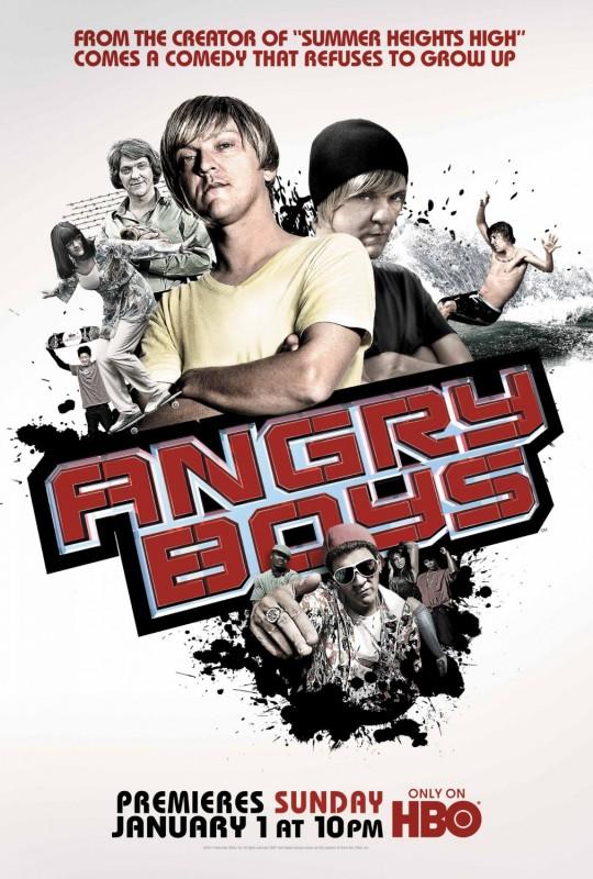 La locandina di Angry Boys