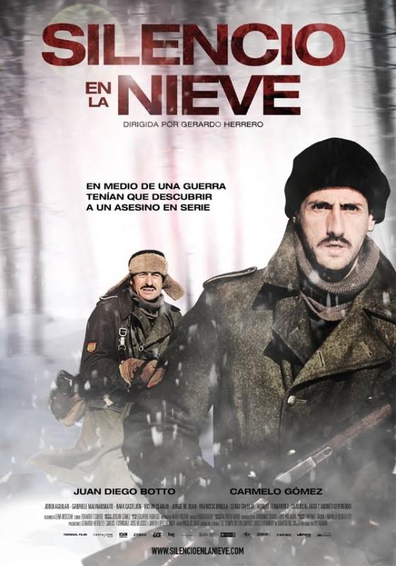 Silencio en la nieve: la locandina del film