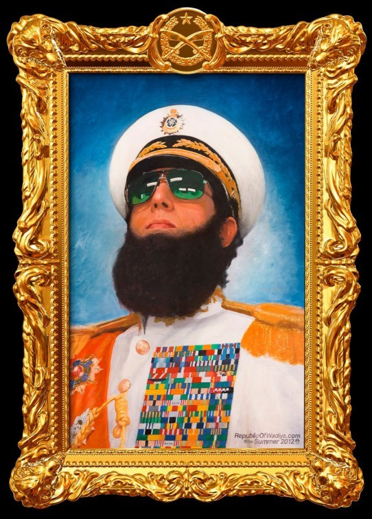 The Dictator: primo poster USA