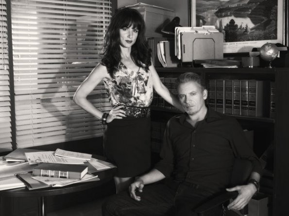The Firm: Juliette Lewis e Callum Keith Rennie in una foto promozionale della serie