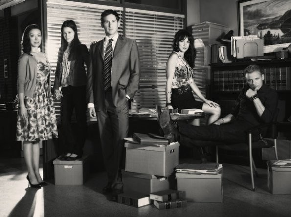 The Firm: una foto promozionale del cast della serie
