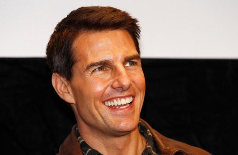 Un bel primo piano di Tom Cruise durante la premiere di Mission: Impossible - Protocollo Fantasma a Monaco di Baviera