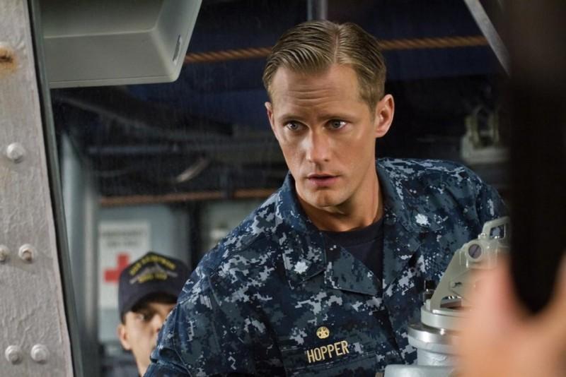 Battleship: Alexander Skarsgård in una scena del film
