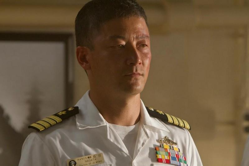 Battleship: Tadanobu Asano in una scena del film