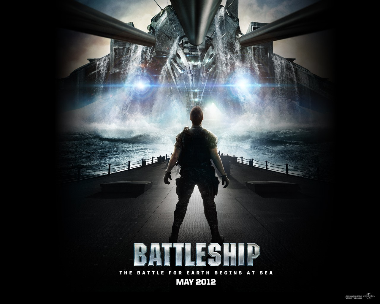 Battleship: un suggestivo wallpaper del film