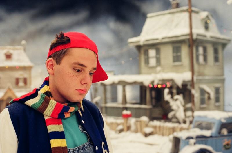 Il magico Natale di Rupert: il giovane Gianmaria Corolla in una scena del film